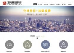 开封天晟置业有限公司网站设计案例图片