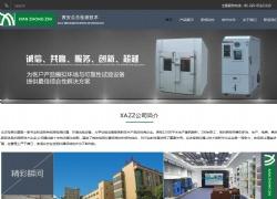 西安众志检测技术有限公司网站设计案例图片