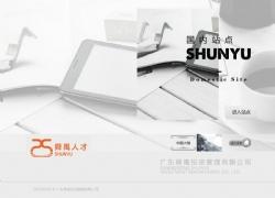 舜禹人才网站设计案例图片